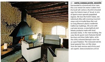 Hotel Consolación (Matarraña, Teruel). Noviembre 2009