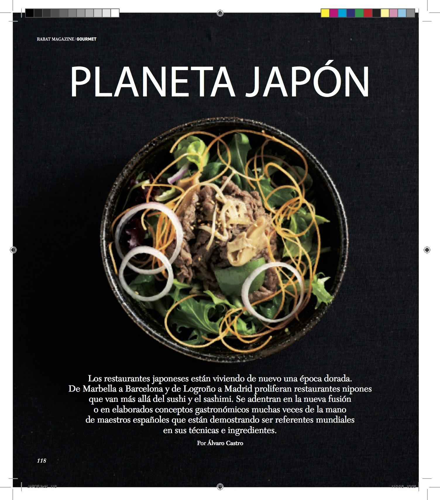 Planeta Japón/ Rabat Otoño-Invierno 2015