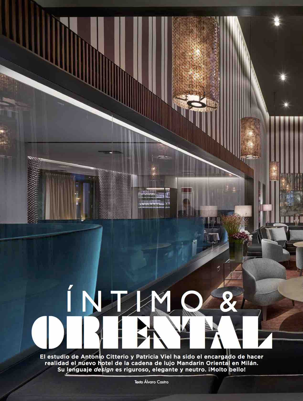 Mandarin Oriental Milan/ nov 2015