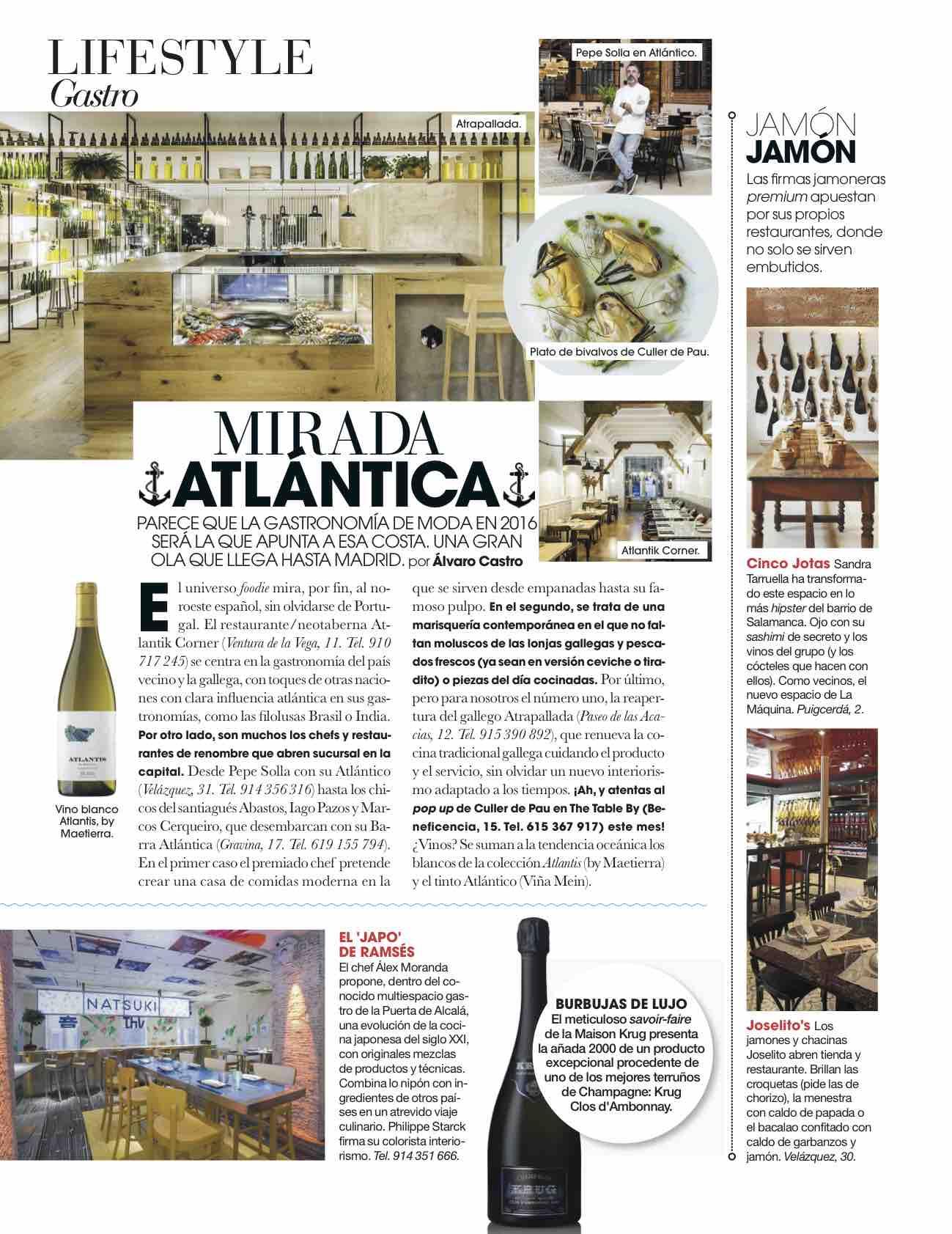 Mirada Atlántica/ enero 2016