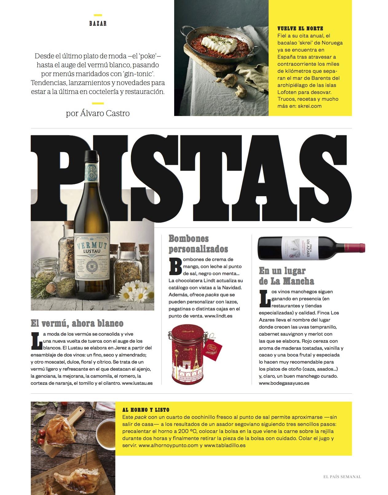 El País Semanal/ Noviembre 2017