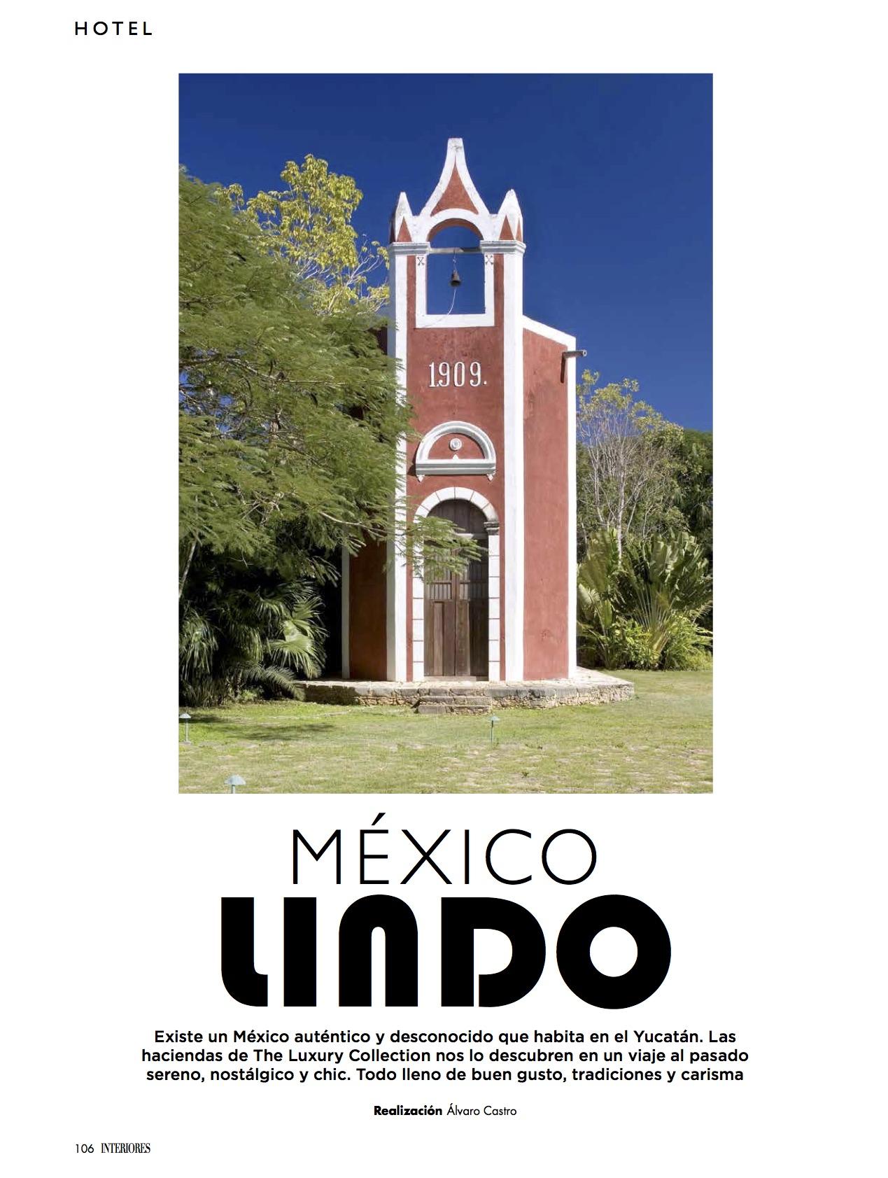 Haciendas de México/ Octubre 2016