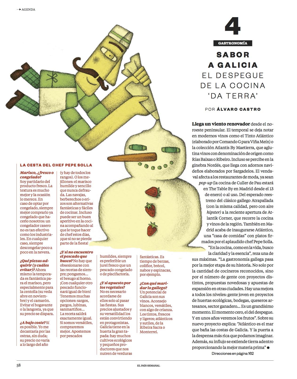 Sabor a Galicia y otras tendencias/ El País Semanal