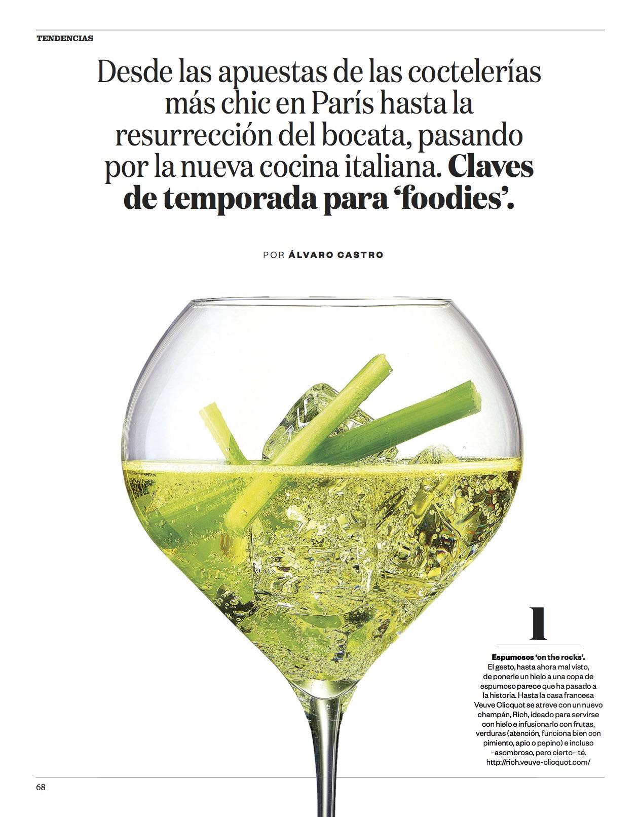 Tendencias gastro/ El País Semanal