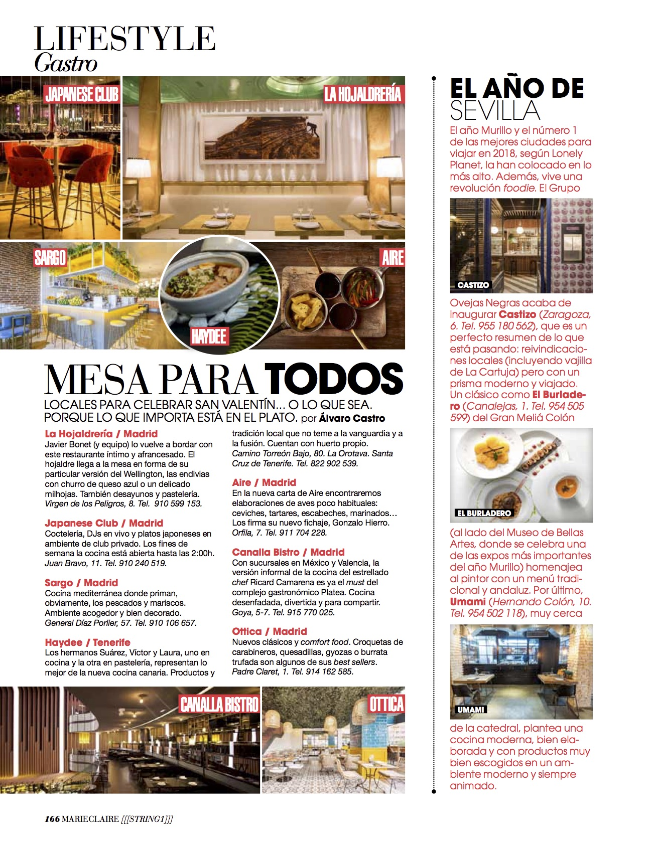 News Gastro/ Febrero 2018